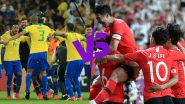Brazil vs South Korea, International Friendly 2019 Live Streaming & Match Time in IST: How to Watch Free Live Telecast of BRA vs KOR on TV & Free Online Stream Details of Friendlies Football Match in India