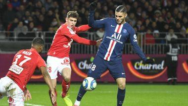 Ligue 1 2019-20: Mauro Icardi Late Winner Against Brest Sends Paris Saint-Germain Nine Points Clear On Top