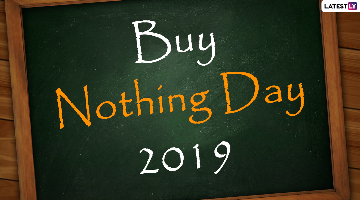 Buy Nothing Day 2019: Date And Significance of the Anti-Black Friday Protest