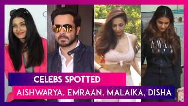 Aishwarya Rai Bachchan, Emraan Hashmi, Malaika Arora And Others Seen In The City | Celebs Spotted