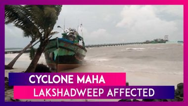Cyclone Maha Intensifies: Lakshadweep Affected, Several People Evacuated