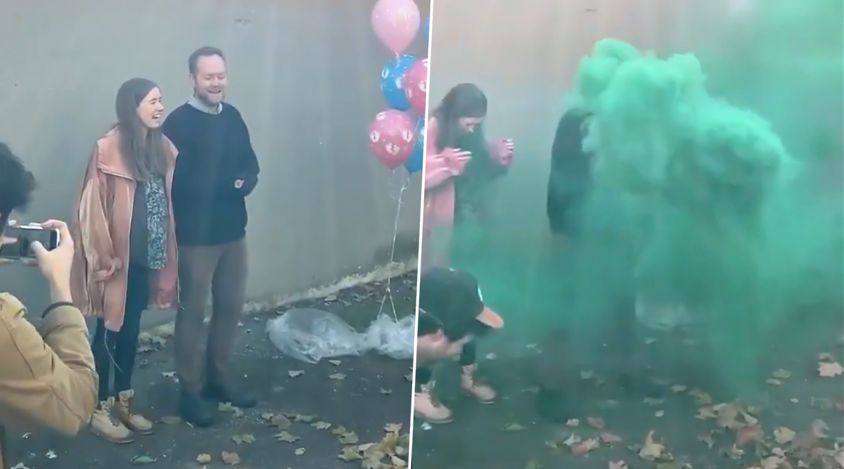 Canadian Couple's Shocking Gender Reveal Ceremony Makes You Question the Practice (Watch Video)