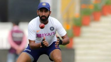 Cheteshwar Pujara Joins Virat Kohli, Ajinkya Rahane in Elite List of Active Indian Players With 50 Catches in Test Cricket During IND vs BAN Pink Ball Test