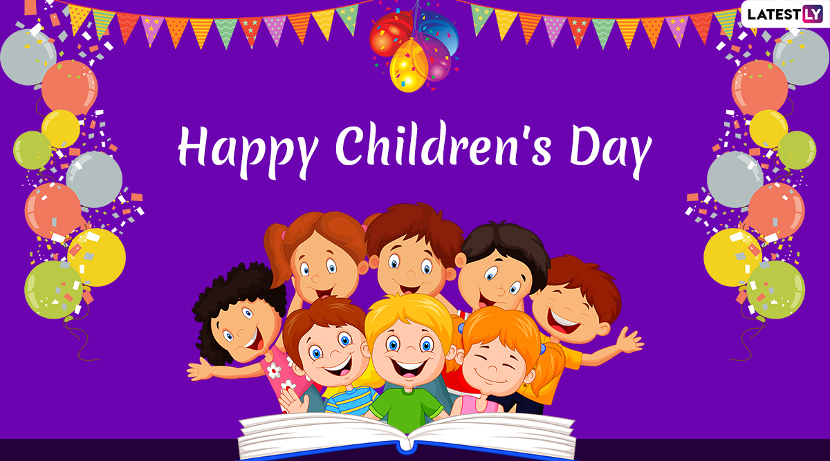 Happy Children's Day 2019 Wishes in English and Hindi: WhatsApp Stickers, Images, GIF Greetings, Quotes, SMS and Photos to Celebrate Bal Diwas