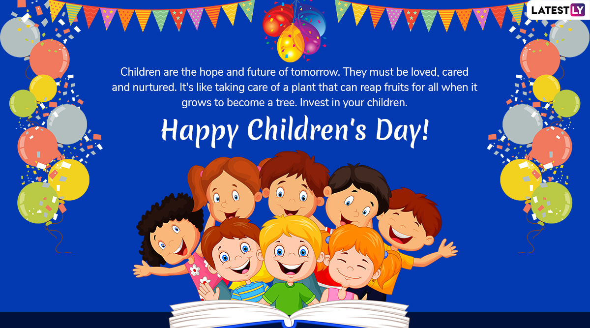 Happy Children S Day 2019 Wishes In English And Hindi Whatsapp Stickers Images Gif Greetings Quotes Sms And Photos To Celebrate Bal Diwas Latestly