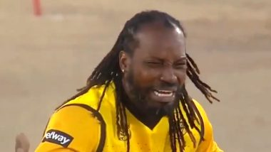 Chris Gayle's 'Cry' Makes Everyone Laugh in Mzansi Super League 2019 (Watch Video)