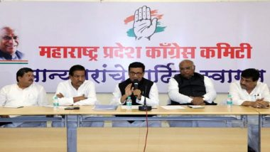 Congress to Elect Maharashtra Legislative Party Leader Tomorrow as 'Ally' Shiv Sena Hints at Govt Formation Over Weekend