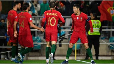 Luxembourg vs Portugal, UEFA EURO Qualifiers 2020 Live Streaming Online & Match Time in IST: How to Get Live Telecast of POR vs LUX on TV & Football Score Updates in India