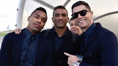 Cristiano Ronaldo Shares a Cool Photo With Juventus Teammates Alex Sandro, Wojciech Szczesny and Danilo Ahead of Champions League 2019–20 Clash (See Instagram Post)