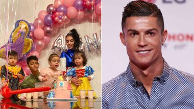 Cristiano Ronaldo Shares Daughter Alana Martina's Birthday Party Pic, Juventus Star's Girlfriend Georgina Rodriguez Dresses Up as Female Captain America!