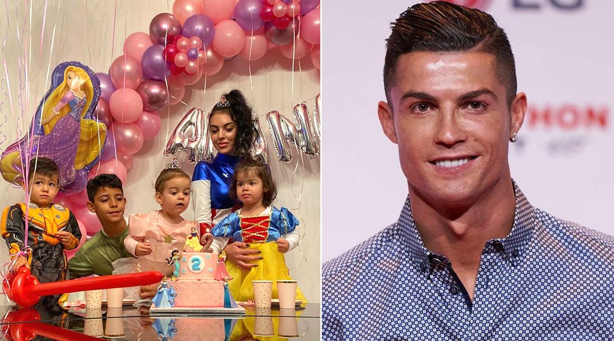 Cristiano Ronaldo Shares Daughter Alana Martina's Birthday Party Pic, Juventus Star's Girlfriend Georgina Rodriguez Dresses Up as Female Captain America!