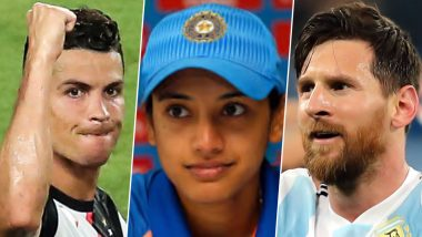 Smriti Mandhana Picks Cristiano Ronaldo Over Lionel Messi as Her Favourite Footballer, See Her Instagram Story