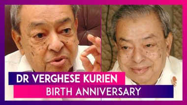 Dr Verghese Kurien Birth Anniversary: Date & Significance Of National Milk Day Celebrated On This Day
