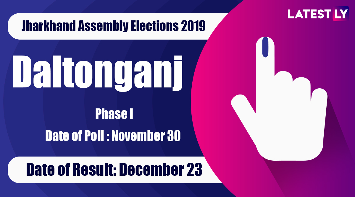 Daltonganj Vidhan Sabha Constituency in Jharkhand: Sitting MLA, Candidates For Assembly Elections 2019, Results And Winners
