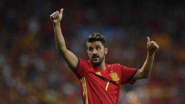David Villa Denies Accusation of Sexual Harassment During Major League Soccer Stint
