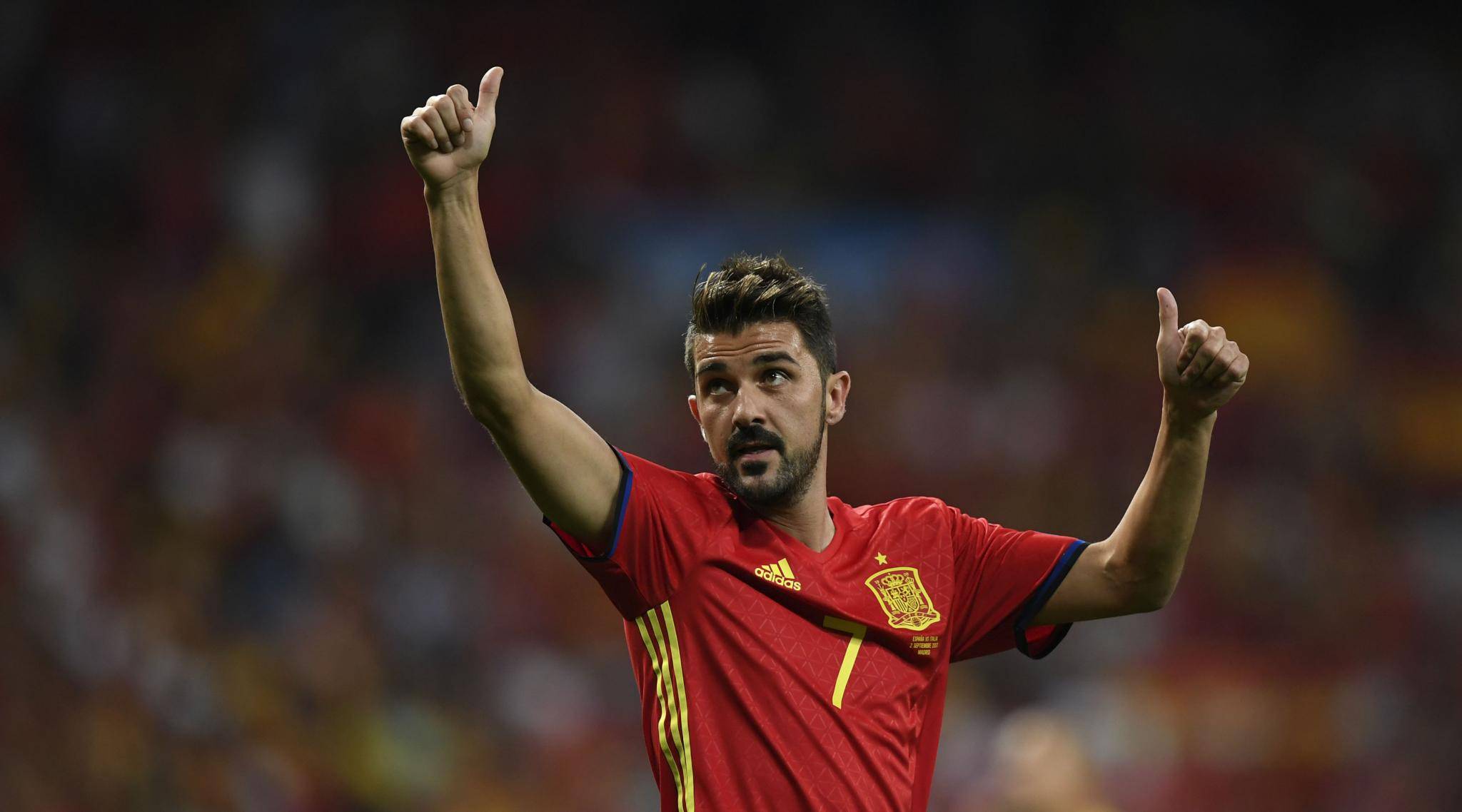 David Villa, Former Barcelona and Spain Striker, Announces Retirement From Football at End of Season