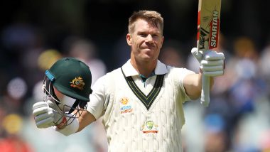 David Warner Scores Triple-Century During AUS vs PAK 2nd Test 2019, Surpasses Don Bradman to Become Highest Run-Scorer at Adelaide Oval