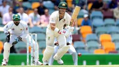 Live Cricket Streaming of Australia vs Pakistan, 2nd Test 2019, Day 2 on PTV Sports & Sony Liv: Check Live Cricket Score, Watch Free Telecast of AUS vs PAK Day-Night Clash on TV and Online