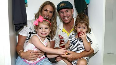 David Warner's Wife Candice in Tears After Opener's Historic Triple Century Against Pakistan