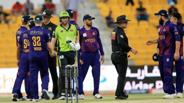 Abu Dhabi T10 League 2019 Live Streaming of Deccan Gladiators vs Northern Warriors Online on Sony Liv: How to Watch Free Live Telecast of DEG vs NOR on TV & Cricket Score Updates in India