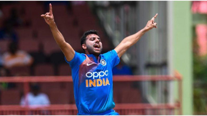 Deepak Chahar Picks Second 'Hat-Trick' in Three Days, Bowls Inspiring Spell Against Vidarbha in Syed Mushtaq Ali Trophy 2019