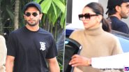 Deepika Padukone and Ranveer Singh Take Off For Their First Wedding Anniversary Trip! (View Pics)