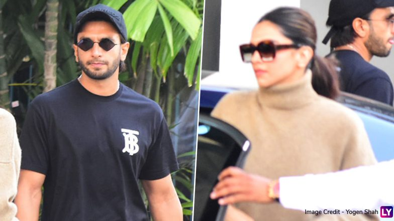 Deepika Padukone and Ranveer Singh Take Off For Their First Wedding Anniversary Trip! (View Pics)