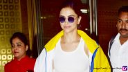 Deepika Padukone's Bright Yellow Airport Look Is a Clear Winner! (View Pics)