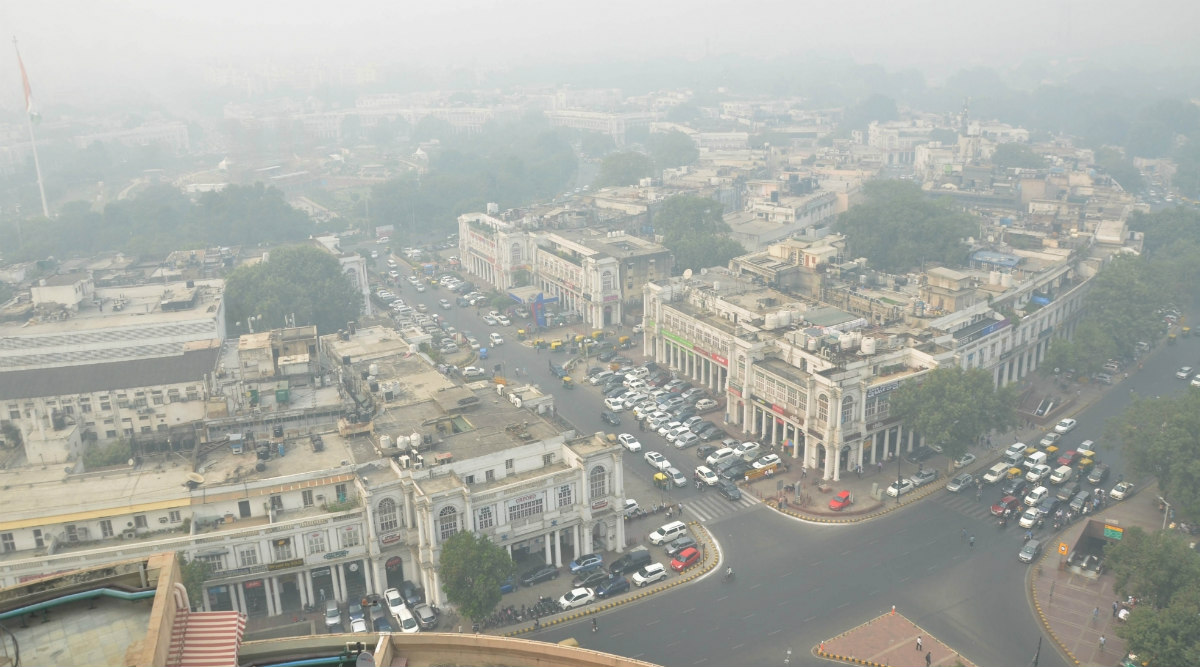 Odd-Even Rule, Day 3 Today: Delhi Air Quality Improves But Remains in 'Unhealthy' Category, Smog Continues to Cover the Sky