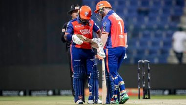 Abu Dhabi T10 League 2019 Live Streaming of Bangla Tigers vs Delhi Bulls on Sony Liv: How to Watch Free Live Telecast of DEB vs BAT on TV & Cricket Score Updates in India
