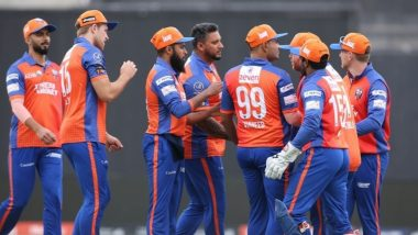 Abu Dhabi T10 League 2019 Live Streaming of Delhi Bulls vs Qalandars Online on Sony Liv: How to Watch Free Live Telecast of DEB vs QAL on TV & Cricket Score Updates in India