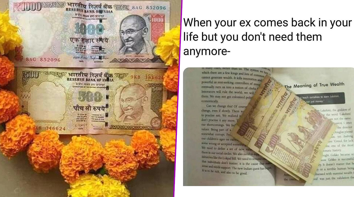 Demonetisation Funny Memes and Jokes Take Over Twitter on Third Anniversary of Ban on Rs 500 and Rs 1000 Currency Notes