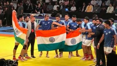 South Asian Games 2019, India vs Sri Lanka Men's Kabaddi Final Live Streaming Online & Time in IST: Check Live Score Online, Get Free Telecast Details of IND vs SL Kabaddi Match on TV
