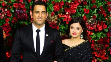 Fans Wish MS Dhoni and Sakshi on Their 10th Wedding Anniversary