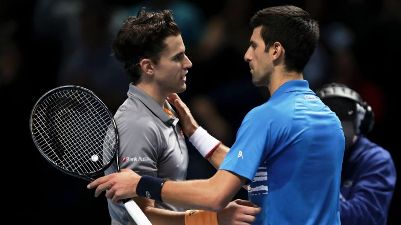 ATP Finals 2019: Dominic Thiem Beats Novak Djokovic to Reach Semi-Finals, Serbian Star to Face Roger Federer in Shootout For a Place in Top-Four