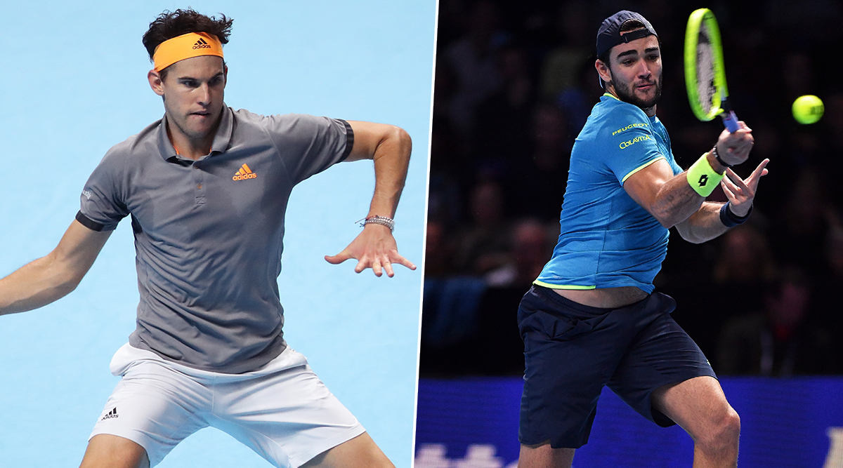 Dominic Thiem vs Matteo Berrettini, ATP Finals 2019 Live Streaming & Match Time in IST: Get Telecast & Free Online Stream Details of Group Stage Match in India