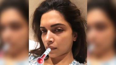 Deepika Padukone's 'Sick Selfie' on Instagram Will Surely Make You Send Her a Get Well Soon Message Right Away
