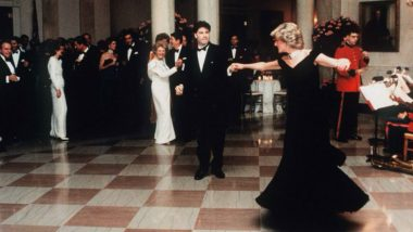 Dress Princess Diana Wore When She Danced With John Travolta Up For Sale