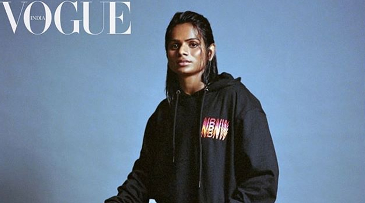 Dutee Chand Features on Vogue India Cover For November 2019; Check Out The Picture of Indian Sprinter's Fierce Avatar in The Magazine