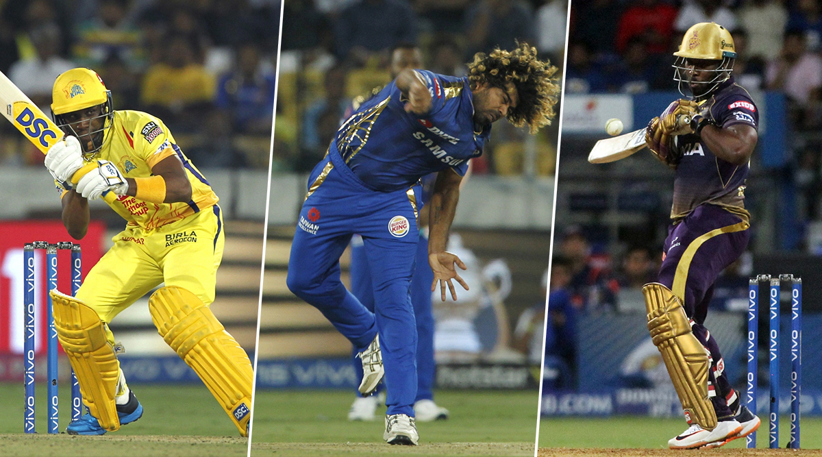T10 League 2019 Players: Lasith Malinga, Andre Russell, Dwayne Bravo & Other IPL Star Cricketers To Watch Out For in Abu Dhabi