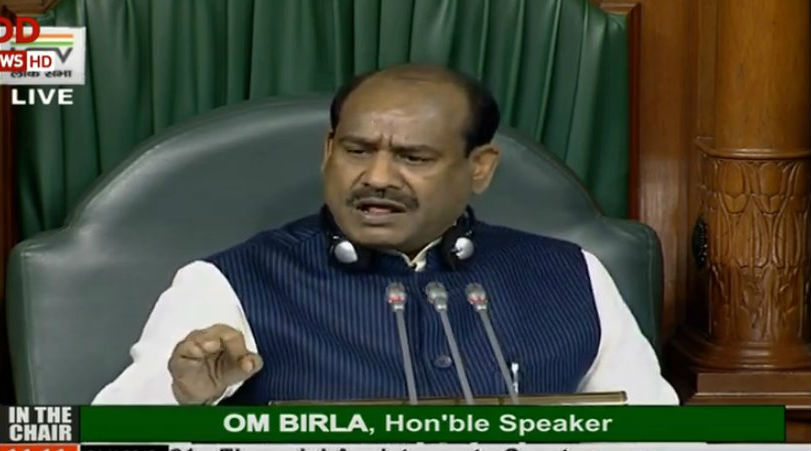 Lok Sabha Speaker Om Birla Warns Opposition MPs Says 'Don't Come to Well of the House'