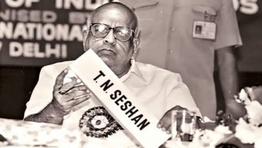 TN Seshan Dies at 86: Narendra Modi, Shashi Tharoor, Sunil Deodhar, Kiran Bedi & Others Pay Tribute to Former Chief Election Commissioner