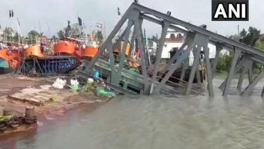 Cyclone Bulbul: Two Jetties on Hatania Doania River Collapse After Cyclonic Storm Hits South 24 Parganas in West Bengal
