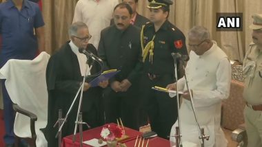 Justice Sanjay Karol Sworn In as Chief Justice of Patna High Court by Governor Phagu Chauhan