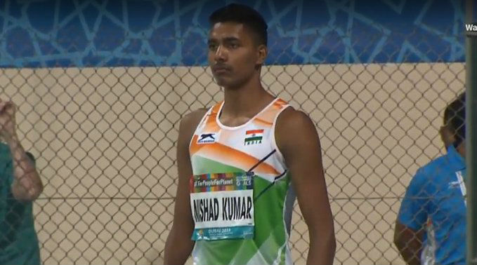 Nishad Kumar Wins Bronze in Men's High Jump T47 Final at Dubai World Para Athletics Championships; Secures Quota for 2020 Tokyo Paralympic Games