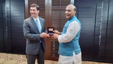 Rajnath Singh Holds Talks With US Defence Secretary Mark T Esper in Bangkok With Focus on Indo-Pacific