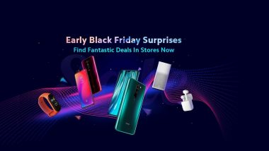 Xiaomi Black Friday 2019 Sale Dates Revealed; Special Discounts, Offers & Sales on Xiaomi Smartphones, Mi TV, Mi Watch & More