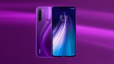 Xiaomi Redmi Note 8 Cosmic Purple Variant Launched in India; First Sale During Black Friday Sale
