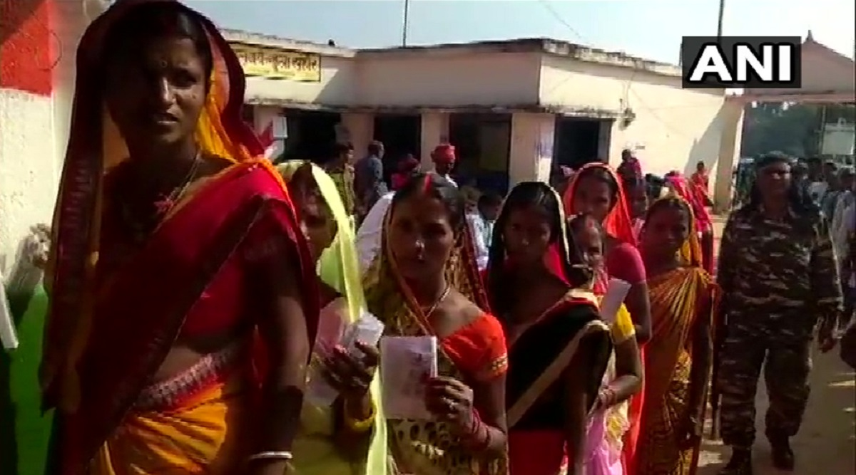 Jharkhand Assembly Elections 2019: 46.83% Voter Turnout Recorded in First Phase of Polling Till 2 PM
