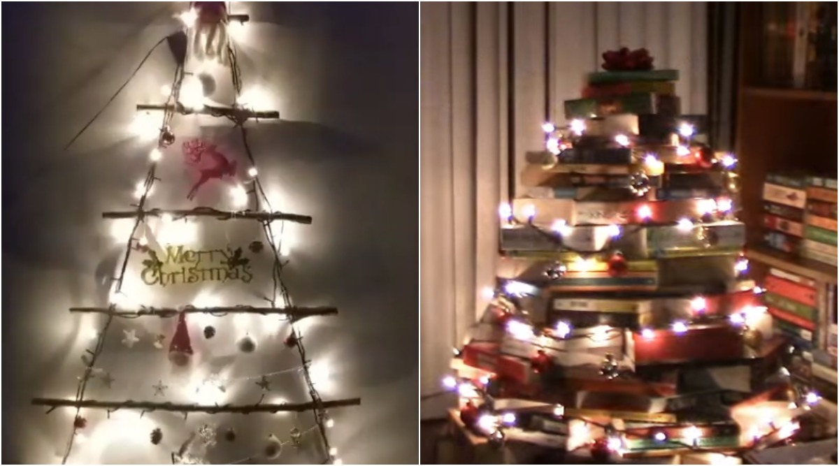 Christmas Tree 2019 Decoration Ideas: 5 Ways to Put Up DIY Eco-Friendly X'mas Tree at Home (Watch Videos)